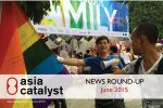 Asia Monthly News Round-up: June 2015