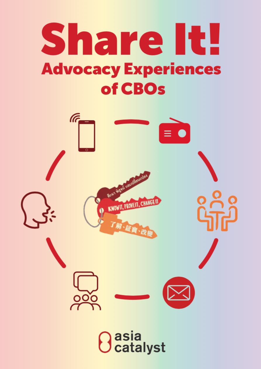 Share It! Advocacy Experiences of CBOs